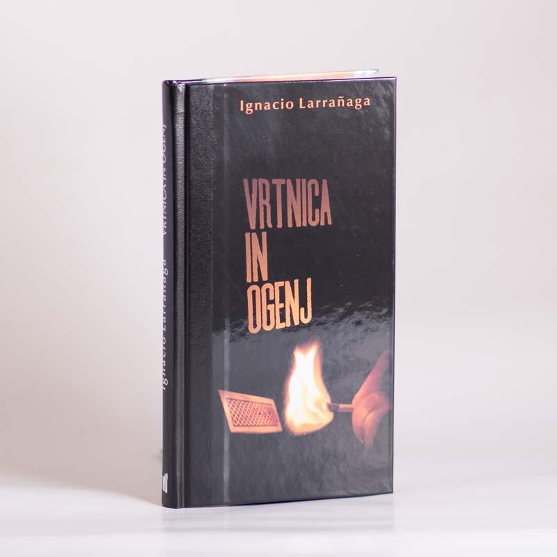 Slika knjižice Vrtnica in ogenj